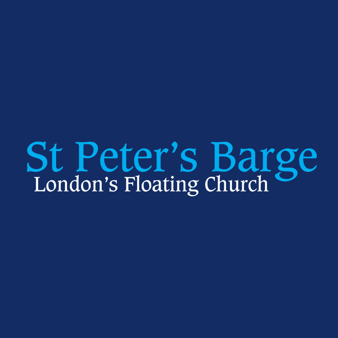 St Peter's Barge » Sermons